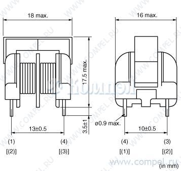 Предлагаем сетевые фильтры общего назначения фирмы Murata...  Эти фильтры могут выпускаться как со стандартной...