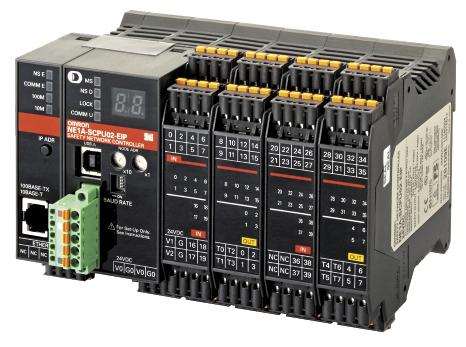 Рис. 9. Сетевой контроллер безопасности NE1A