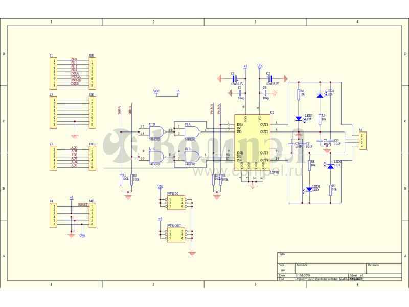 Arduino Ethernet Shield 2 DEV-11166: Arduino