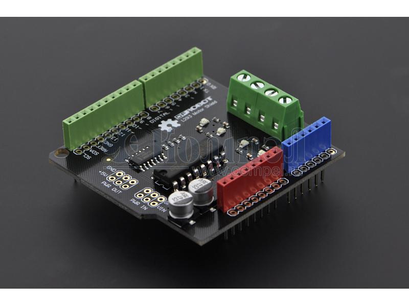 Arduino Motor Shield Italy - SGBotic Pte Ltd
