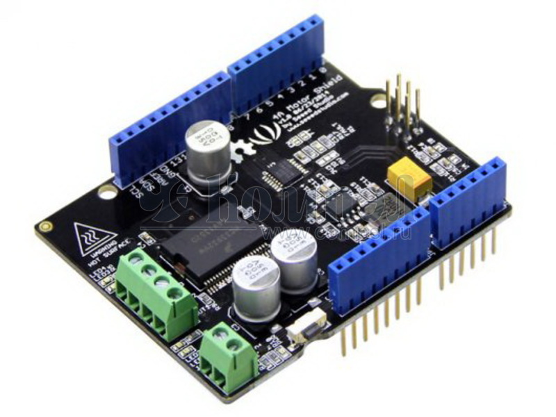 Arduino Motor Shield Tutorial: 6 Steps with Pictures