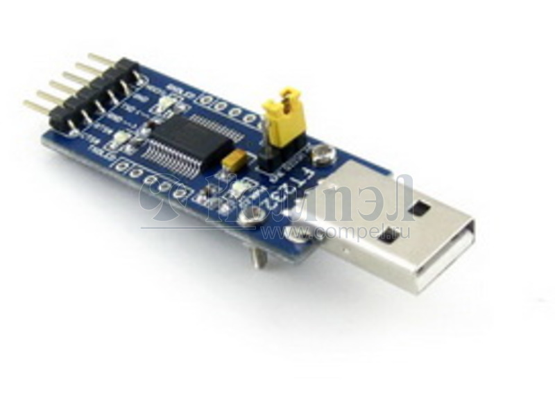 FT232RL搭載小型USB-シリアルアダプタ