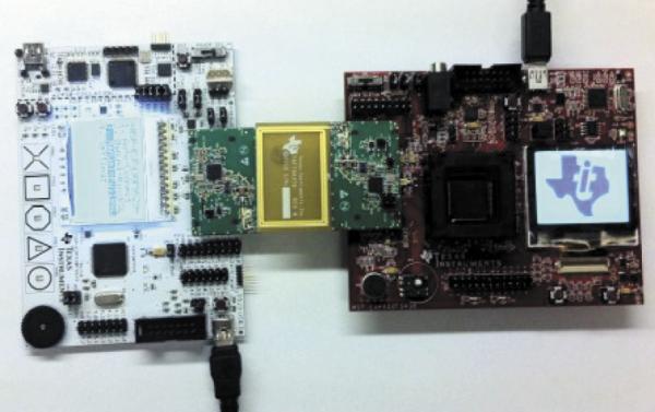 Рис. 5. Обновление прошивки посредством NFC BSL