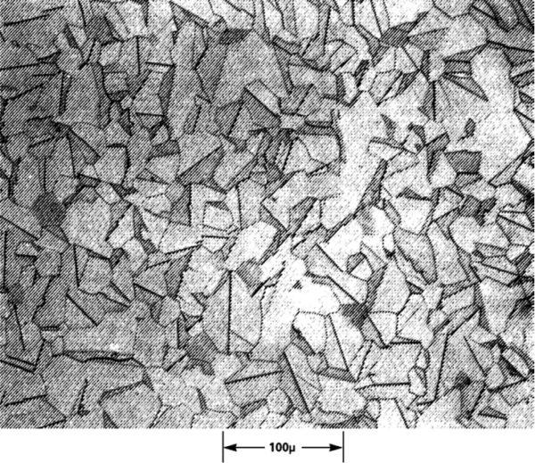 Рис. 1. Фотография гранулярной структуры варистора, сделанная с помощью электронного микроскопа